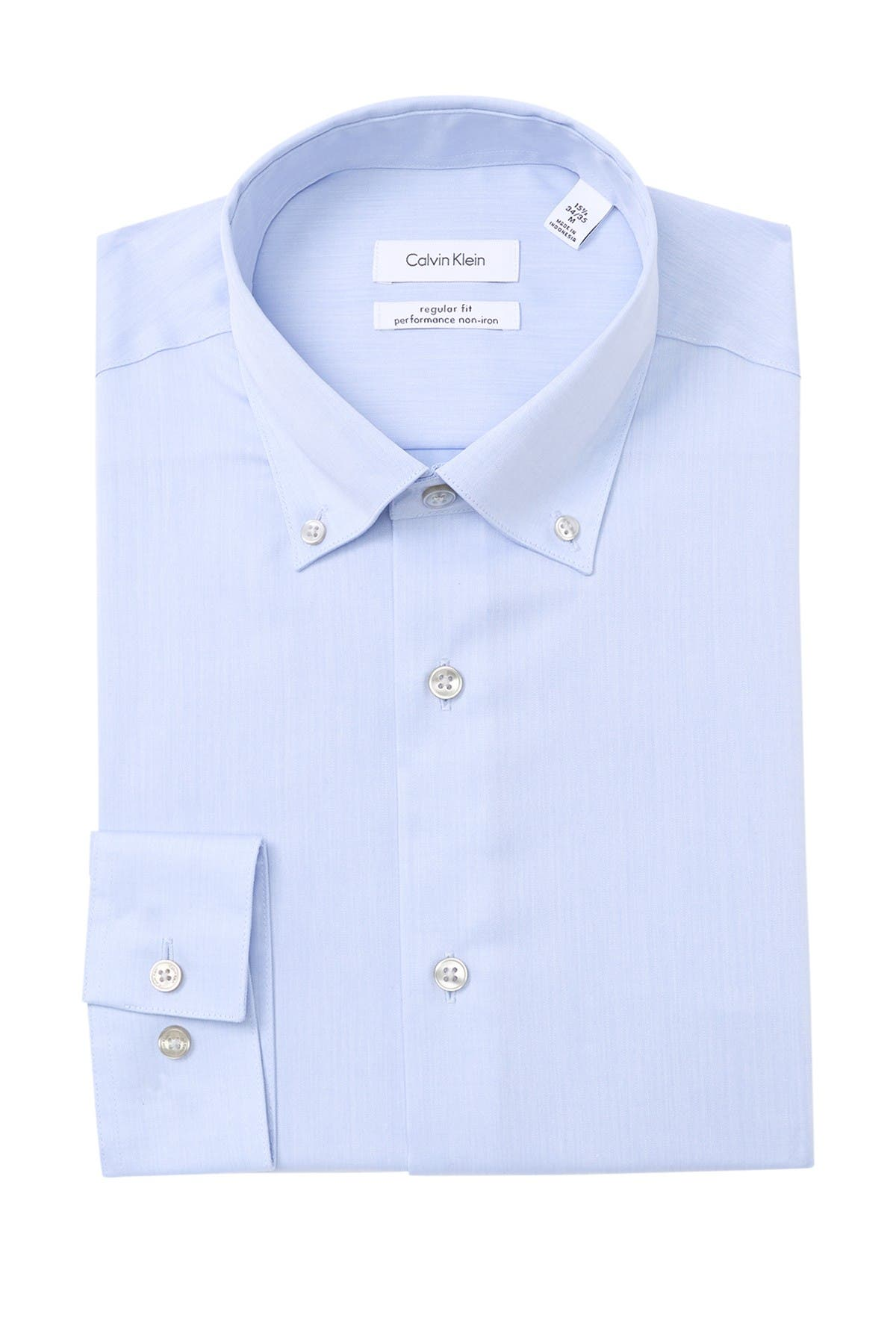 Image of Calvin Klein Slim Fit Dress Shirt