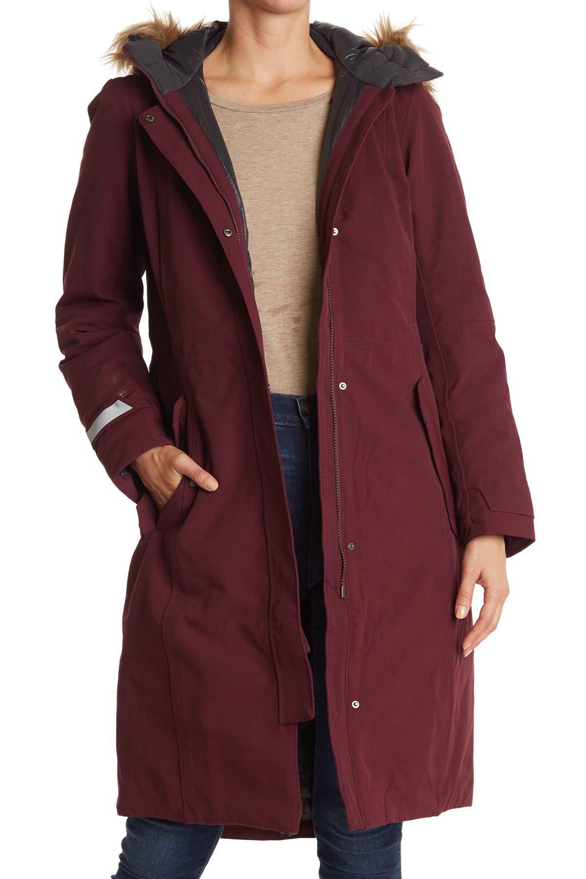 Image of Helly Hansen Vidda Faux Fur Trim Hood Waterproof Long Insulated Parka Jacket
