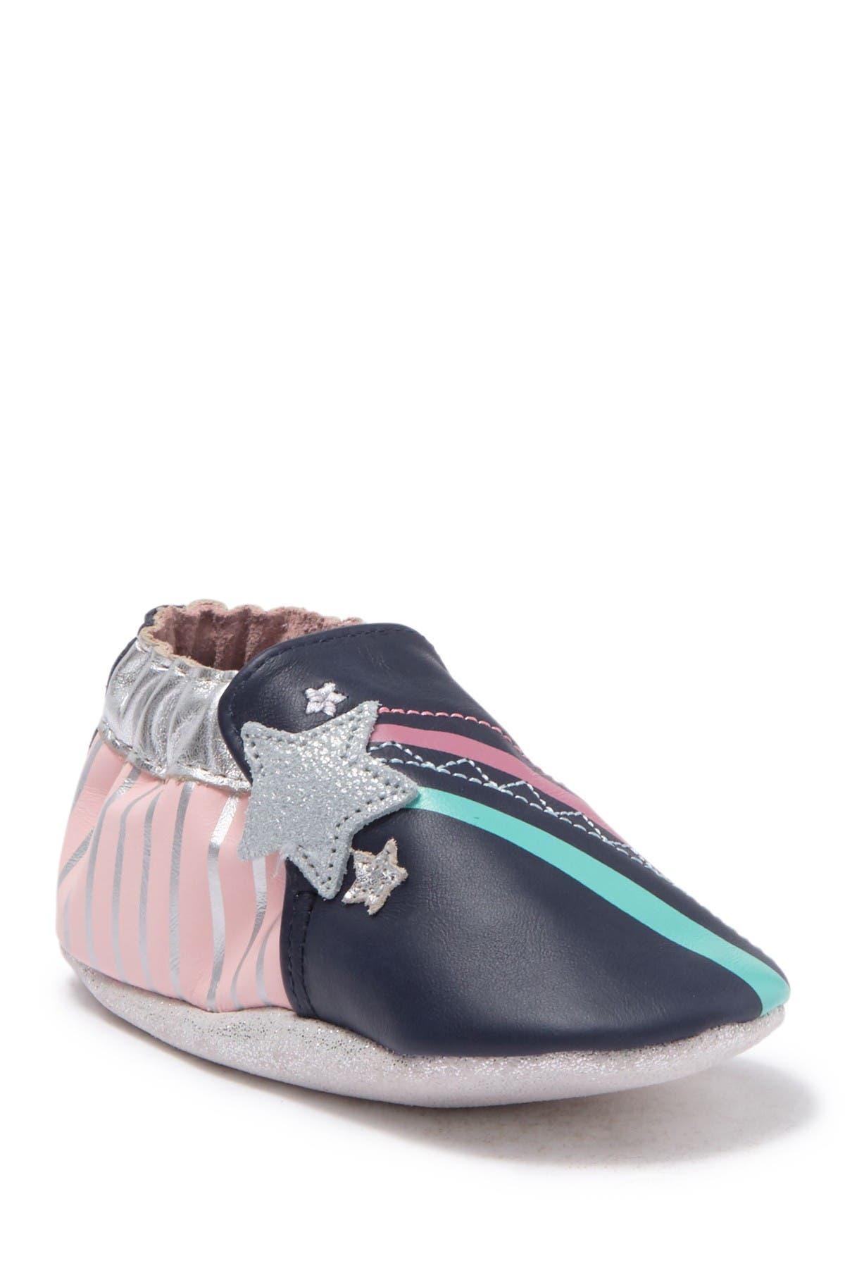 Image of Robeez Aurora Leather Slip-On Shoe