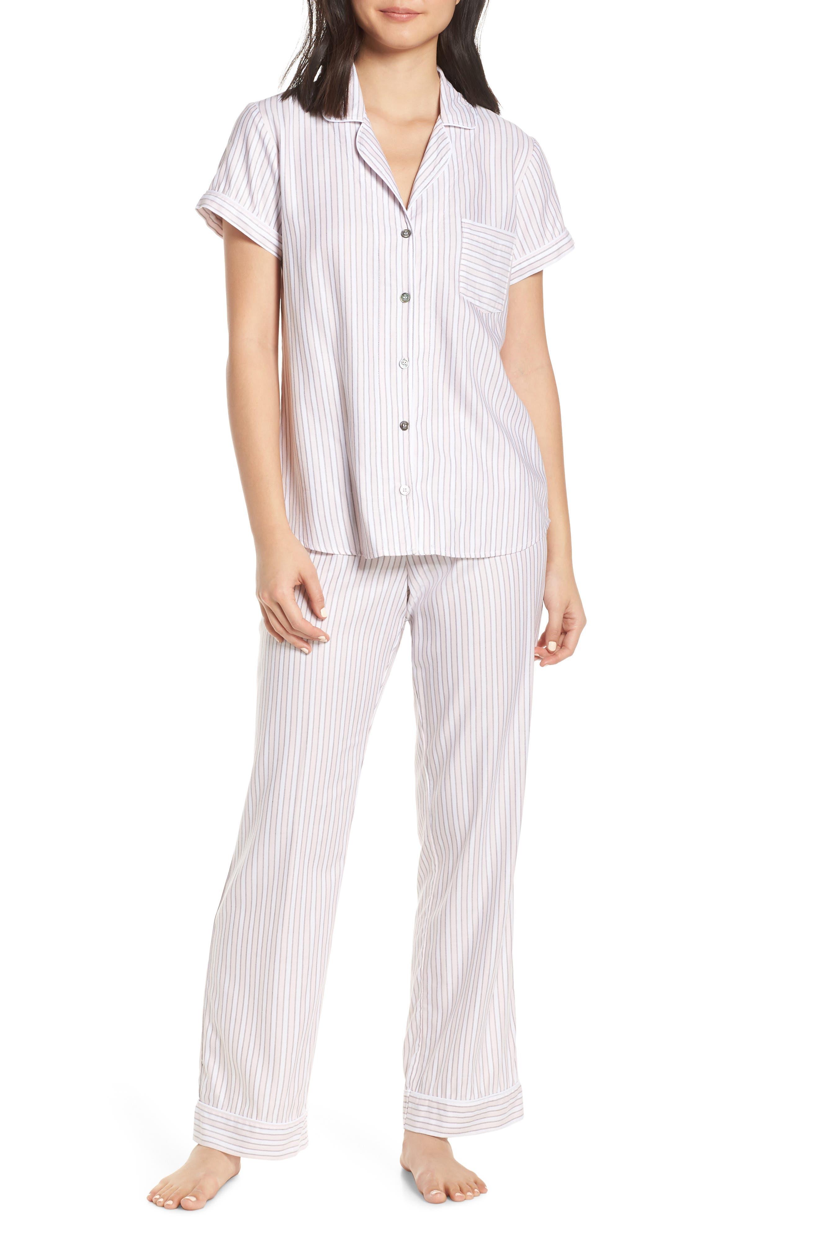 Ugg Rosan Stripe Pajamas, Pink