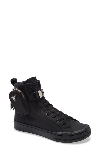 Prada WHEEL HIGH TOP SNEAKER