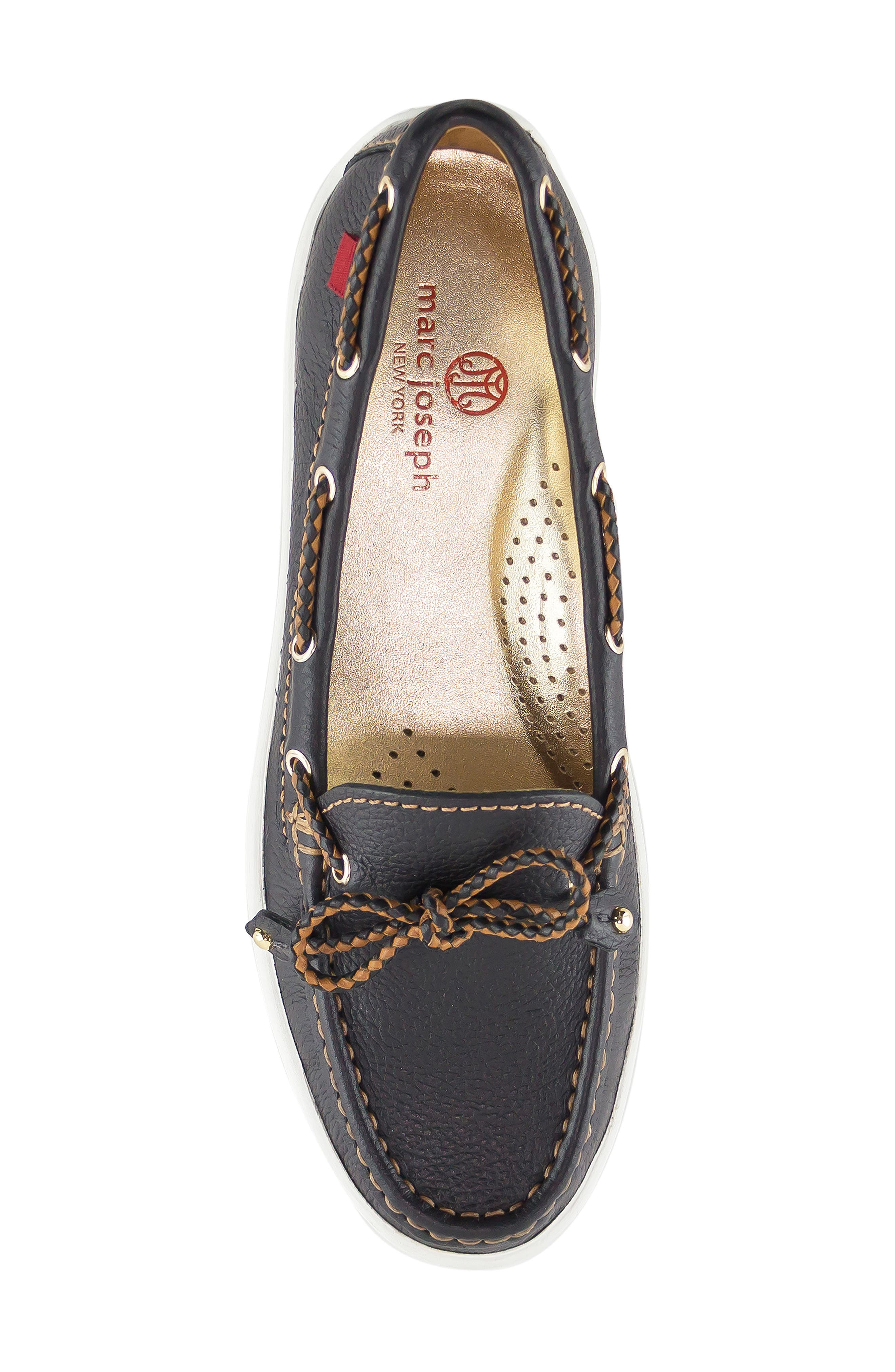 ,                             Pacific Loafer,                             Alternate thumbnail 5, color,                             BLACK LEATHER