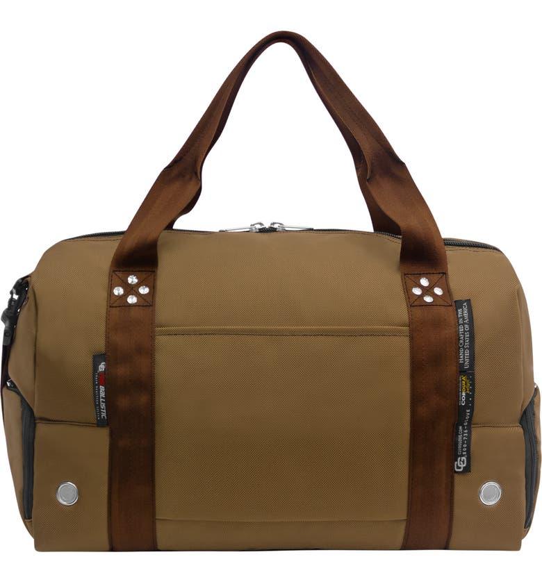 CLUB GLOVE <sup>®</sup> TRS Ballistic - Travel Rx Duffle Bag, Main, color, DESERT SAND CINNAMON