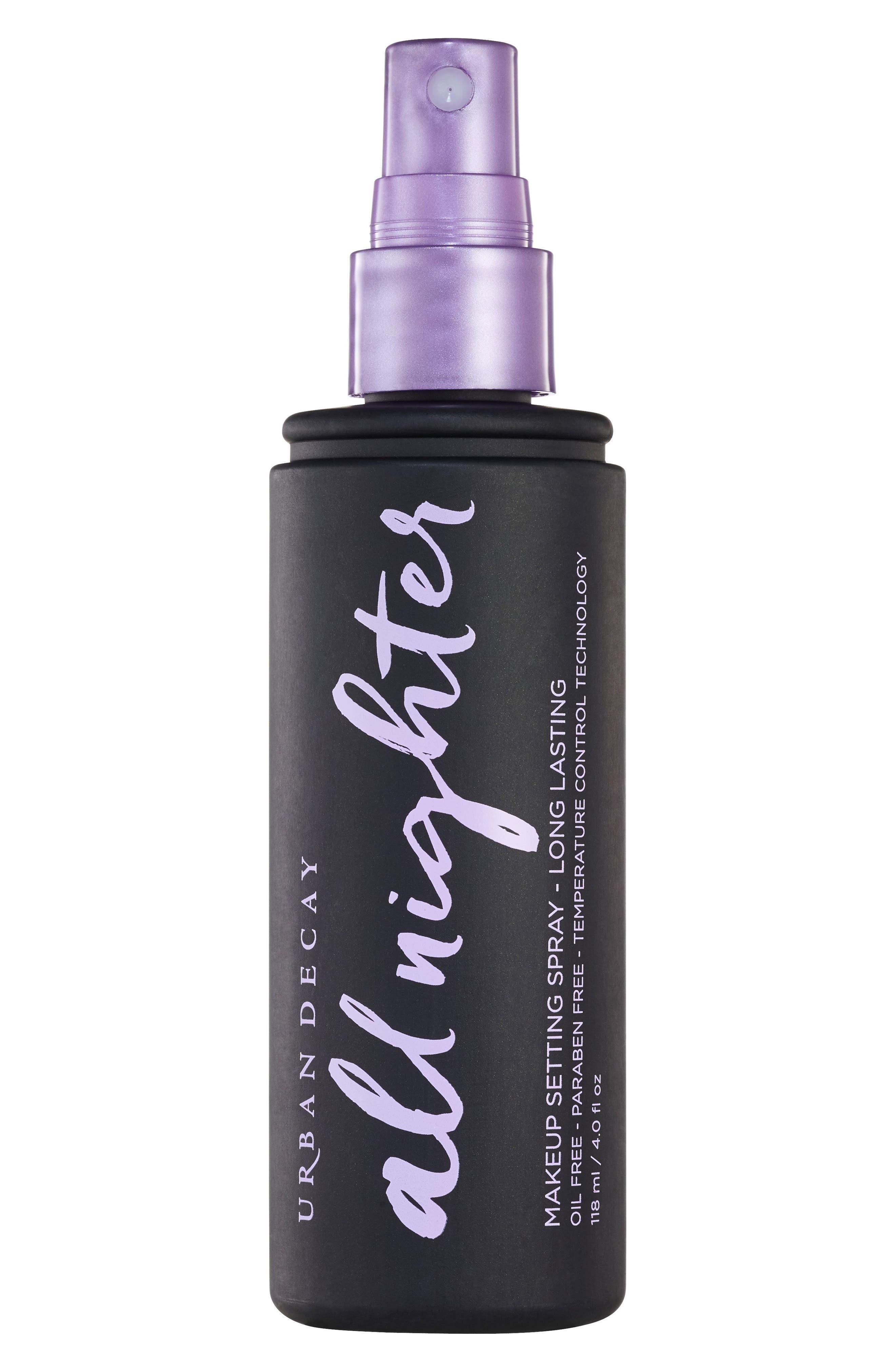 ,                             All Nighter Long-Lasting Makeup Setting Spray,                             Alternate thumbnail 2, color,                             NO COLOR