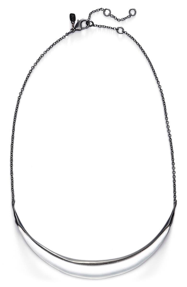 ALEXIS BITTAR 'Lucite<sup>®</sup>' Crescent Bib Necklace, Main, color, 040