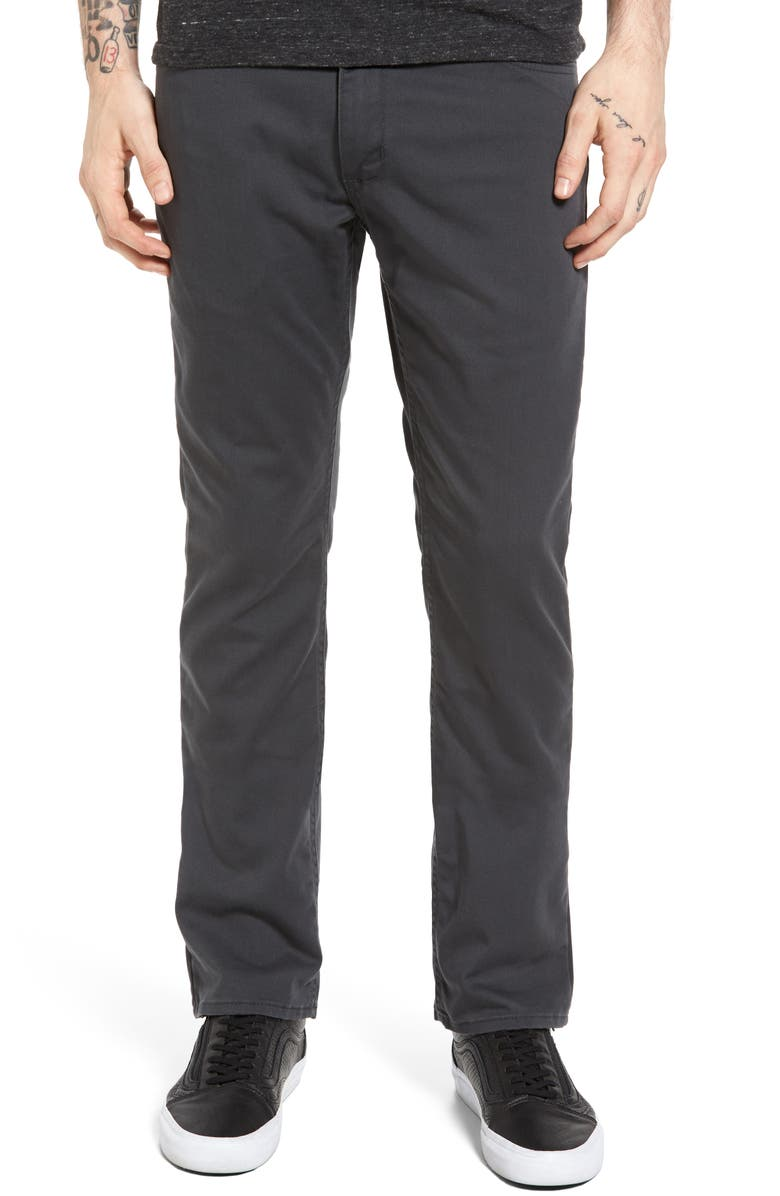 VANS V56 Covina II Slim Fit Pants, Main, color, NEW CHARCOAL