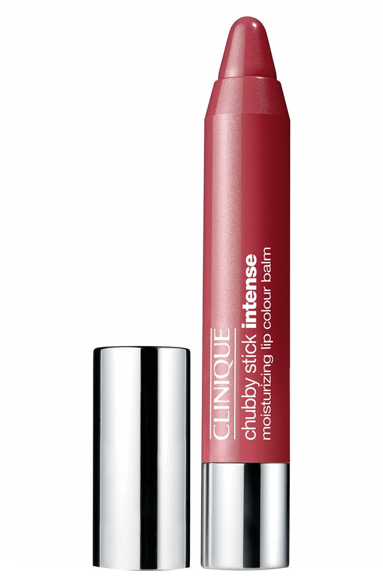 CLINIQUE Chubby Stick Intense Moisturizing Lip Color Balm, Main, color, 02 CHUNKIEST CHILI