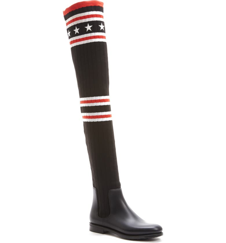 1ac01ad91 Givenchy Storm Over the Knee Sock Boot (Women) | Nordstrom