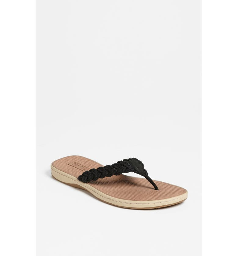SPERRY TOP-SIDER TUCKERFISH FLIP FLOP, Main, color, 001