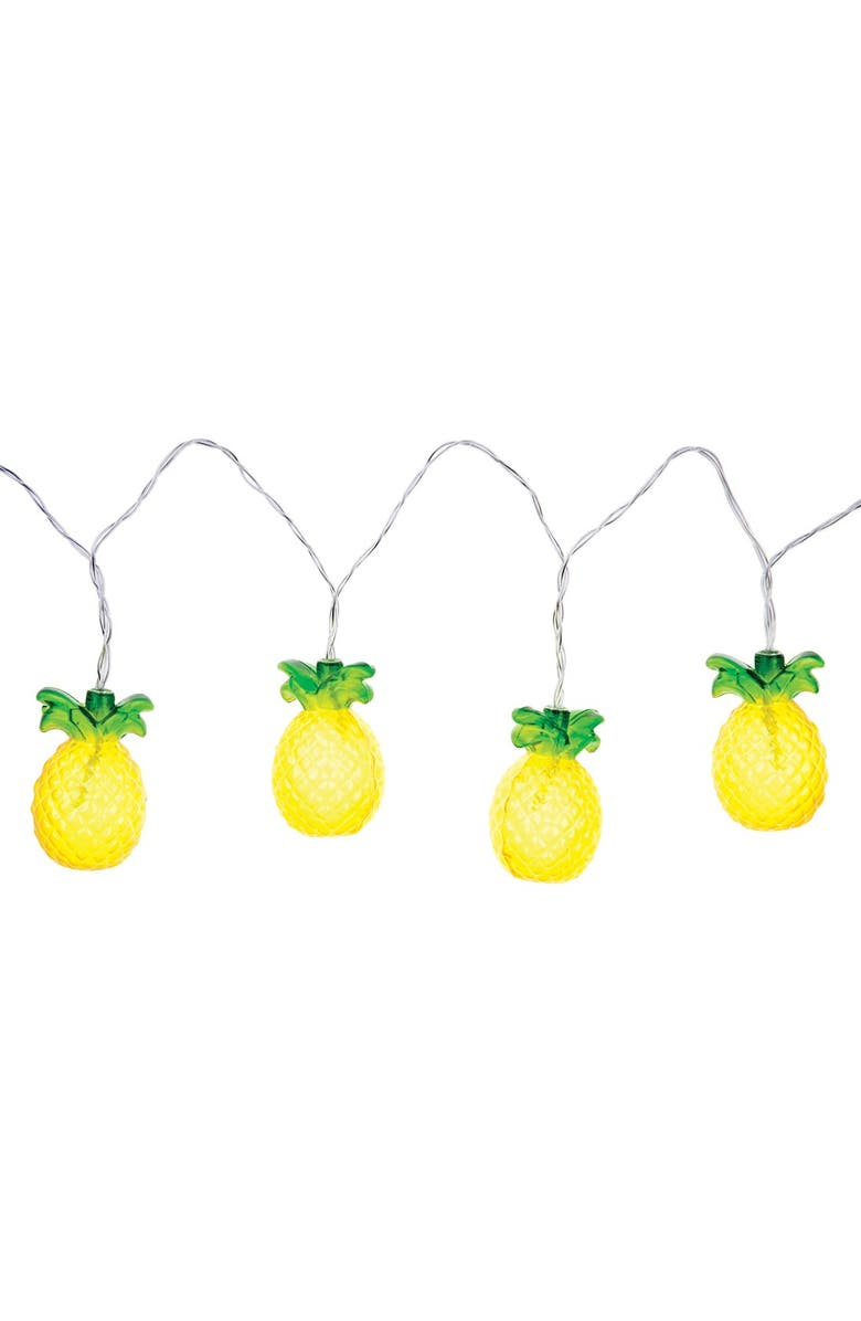 SUNNYLIFE Pineapple String Lights, Main, color, 700