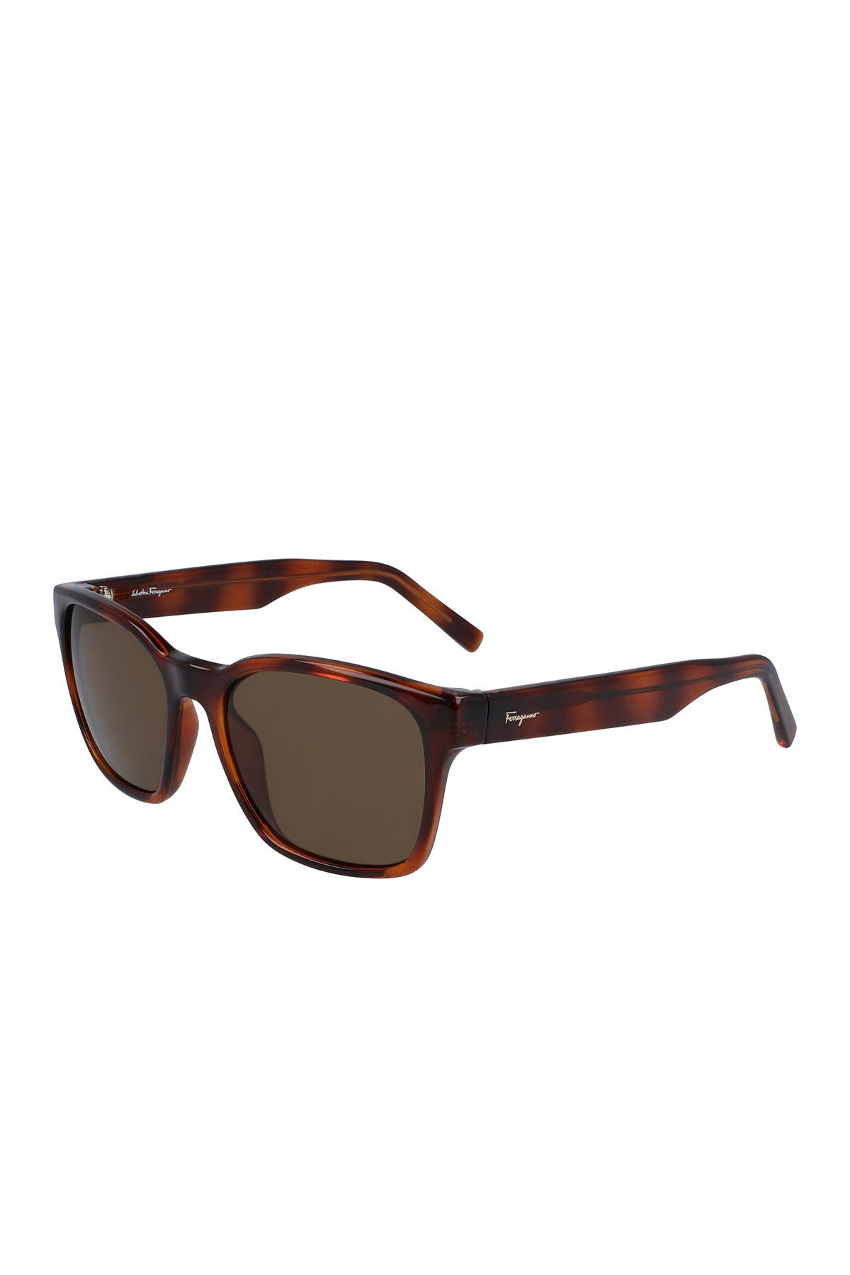 Image of Salvatore Ferragamo 55mm Square Sunglasses
