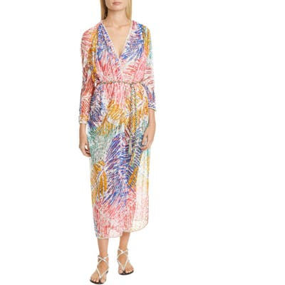 Missoni Multicolor Knit Cover-Up, Blue/green