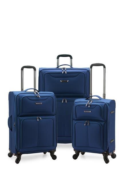 Image of Traveler's Choice Luggage Cedar 3-Piece Expandable Softside Spinner Luggage Set