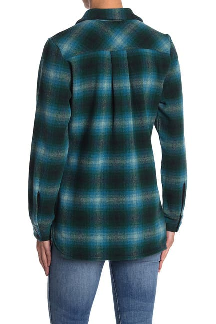 Image of SmartWool Anchor Line Plaid Shirt Jacket
