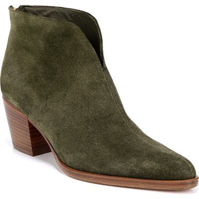 Vince Havana Notch Bootie, Green