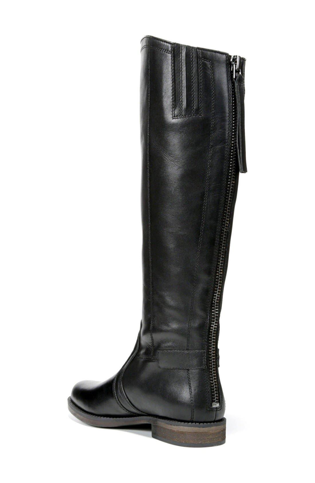 ,                             Carlana Riding Boot,                             Alternate thumbnail 2, color,                             001
