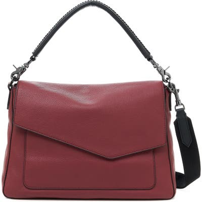 Botkier Cobble Hill Leather Hobo - Burgundy