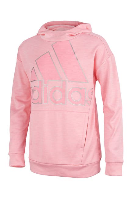 Image of adidas Fleece Hooded Pullover