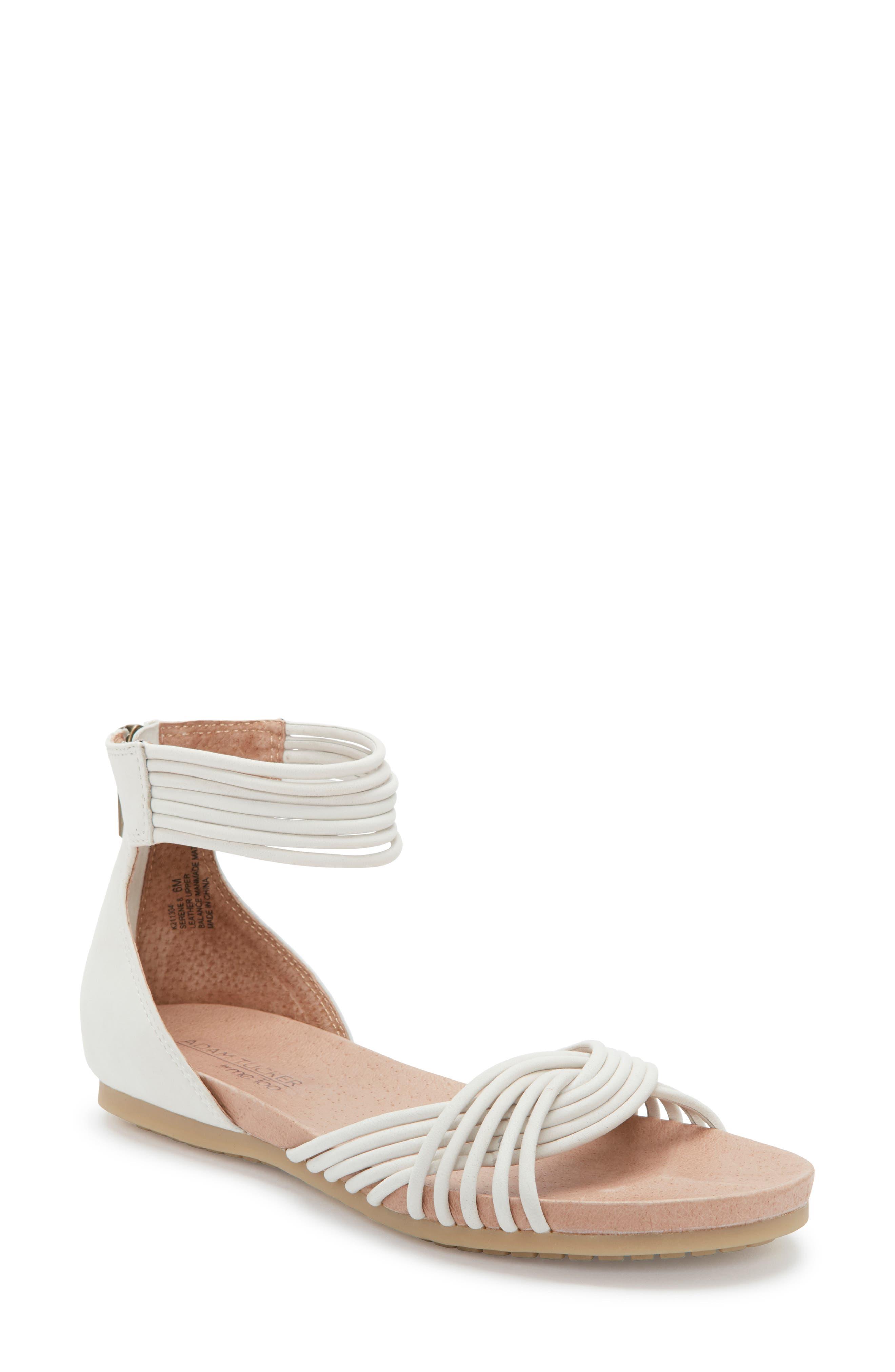 Adam Tucker Serene Sandal- White