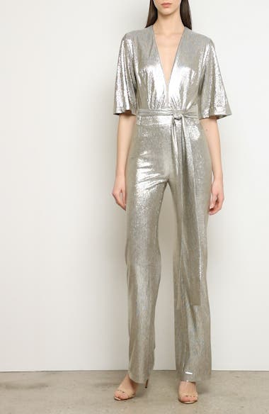 Metallic Galaxy Jumpsuit, video thumbnail