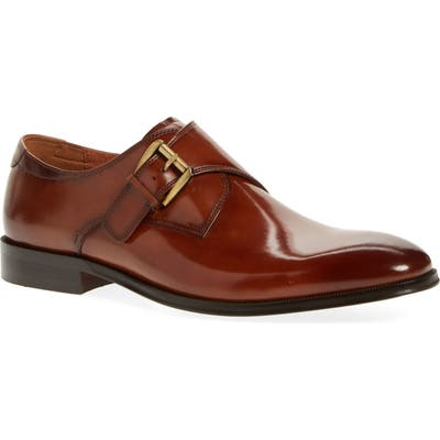 Florsheim Belfast Single Strap Monk Shoe, Brown
