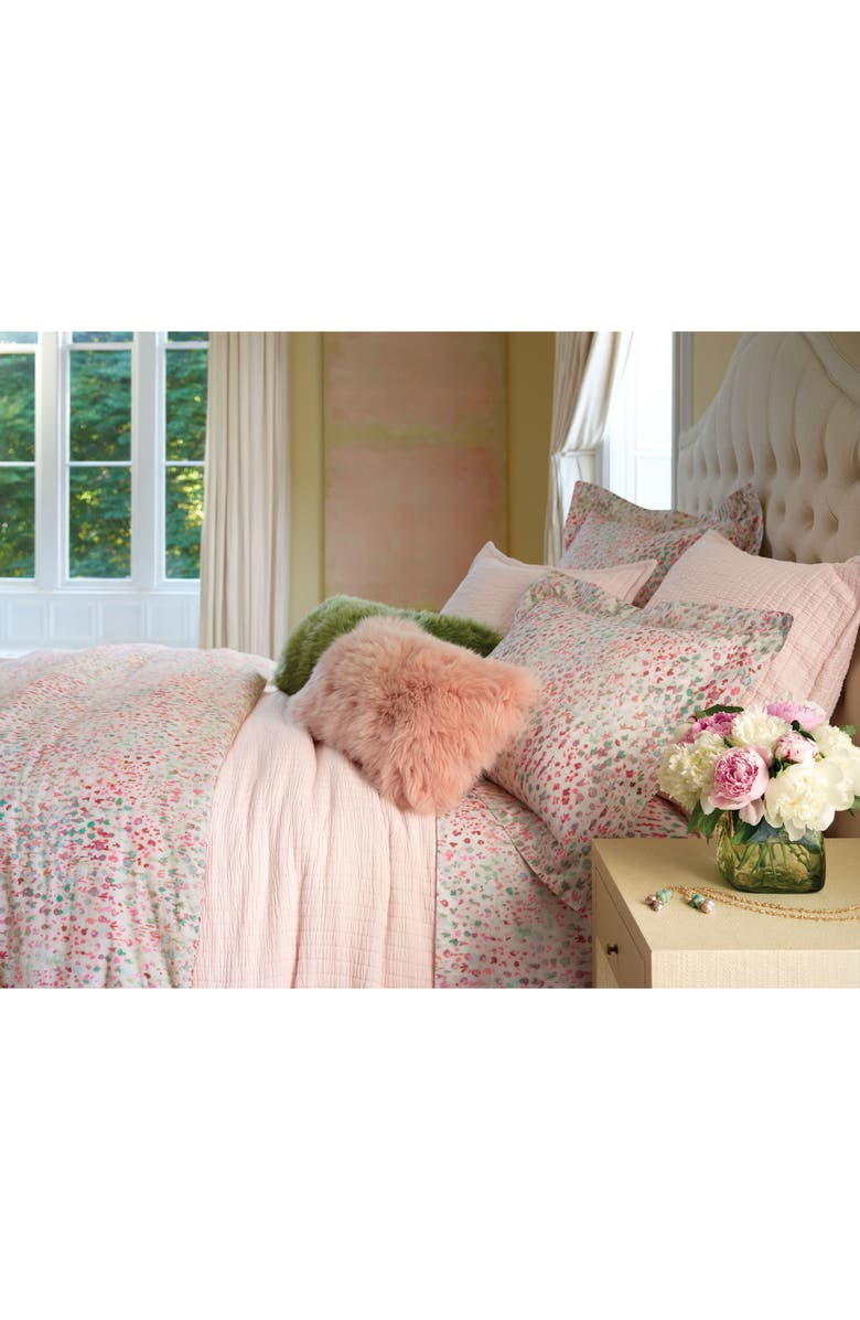 PINE CONE HILL Jardin Duvet Cover, Main, color, PINK