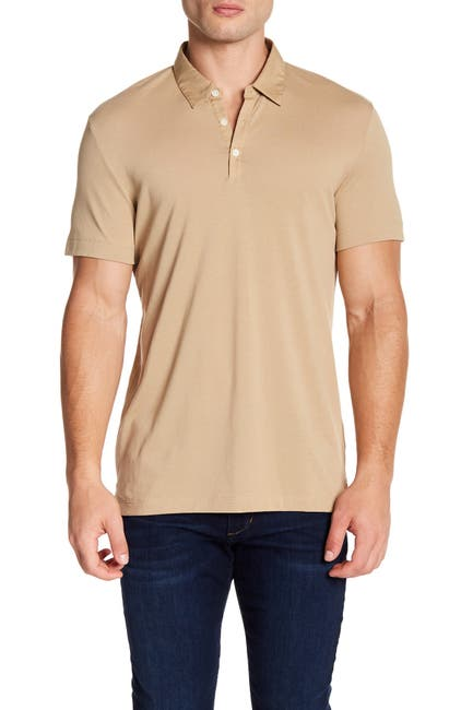 Image of Theory Bound Placket Air Pique Polo
