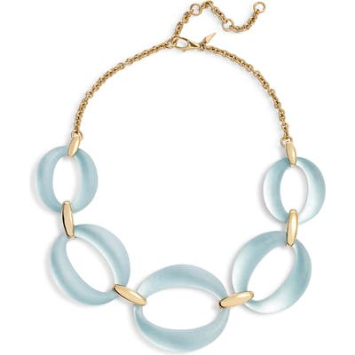Alexis Bittar Essentials Large Lucite Link Necklace