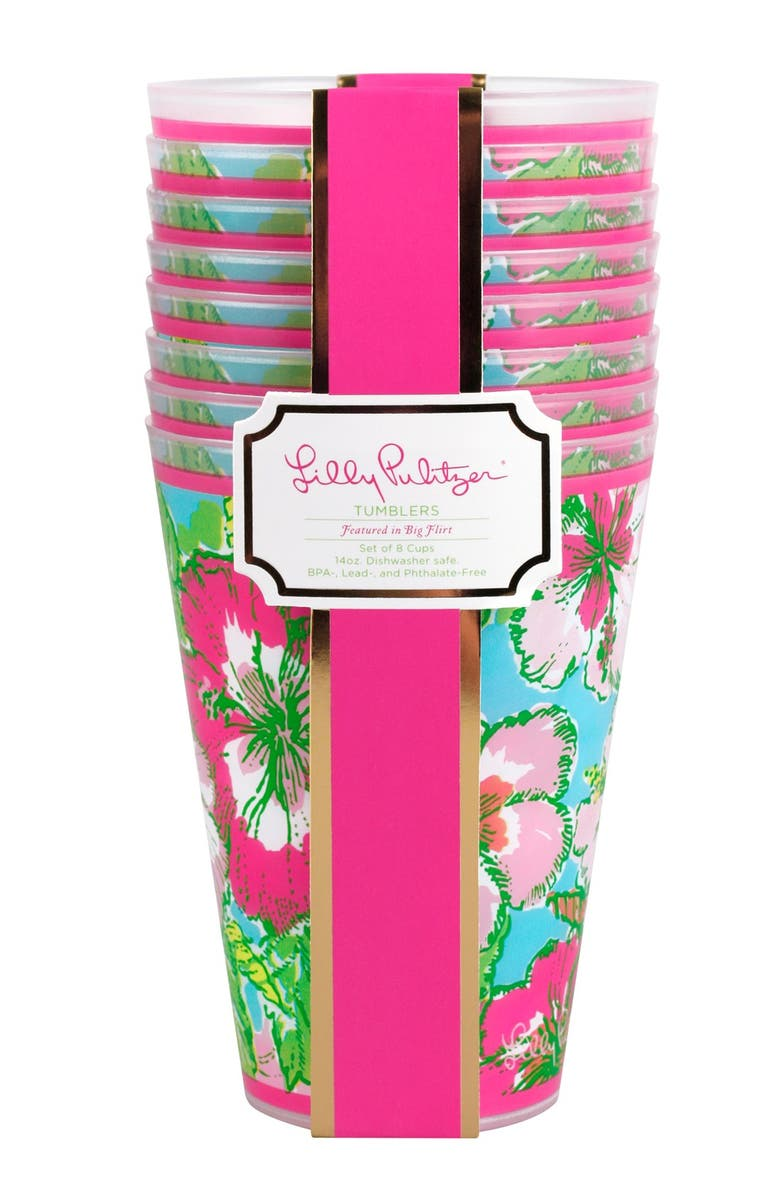 LILLY PULITZER<SUP>®</SUP> Tumblers, Main, color, 300