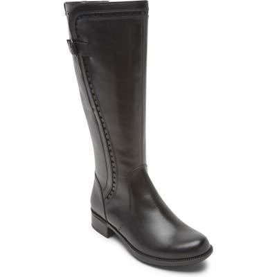 Rockport Cobb Hill Copley Waterproof Boot Regular Calf- Black