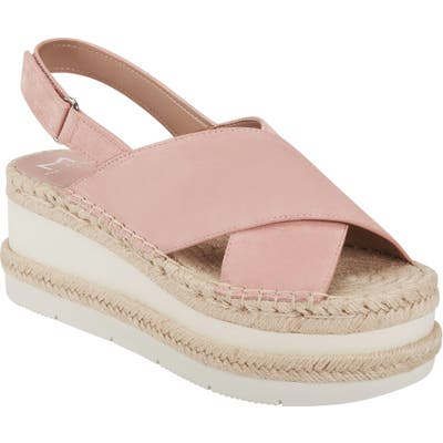 Marc Fisher Ltd Gandy Platform Sandal, Pink