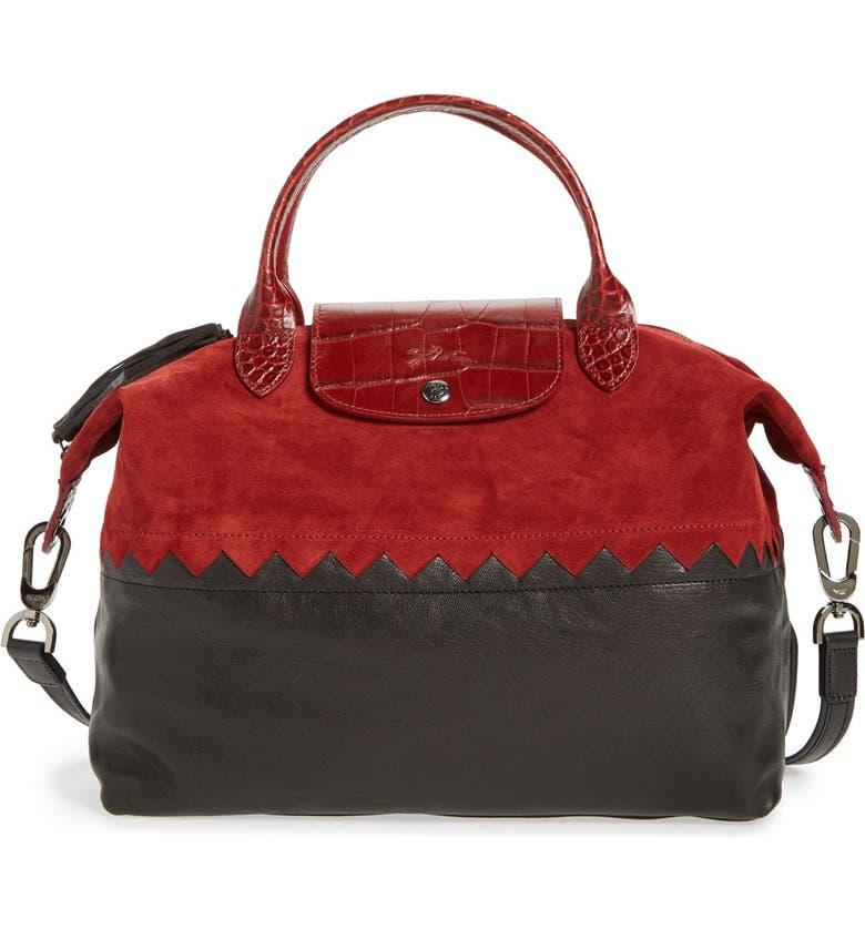 'Medium Le Pliage Cuir - Cody' Leather Handbag