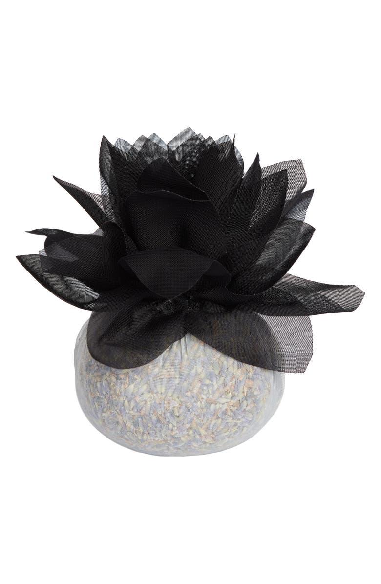SONOMA LAVENDER Stonehide Flower Sachet, Main, color, BLACK