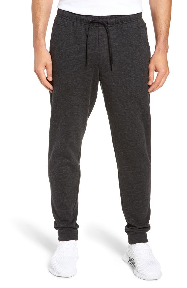 ADIDAS ID Stadium Slim Fit Sweatpants, Main, color, 001