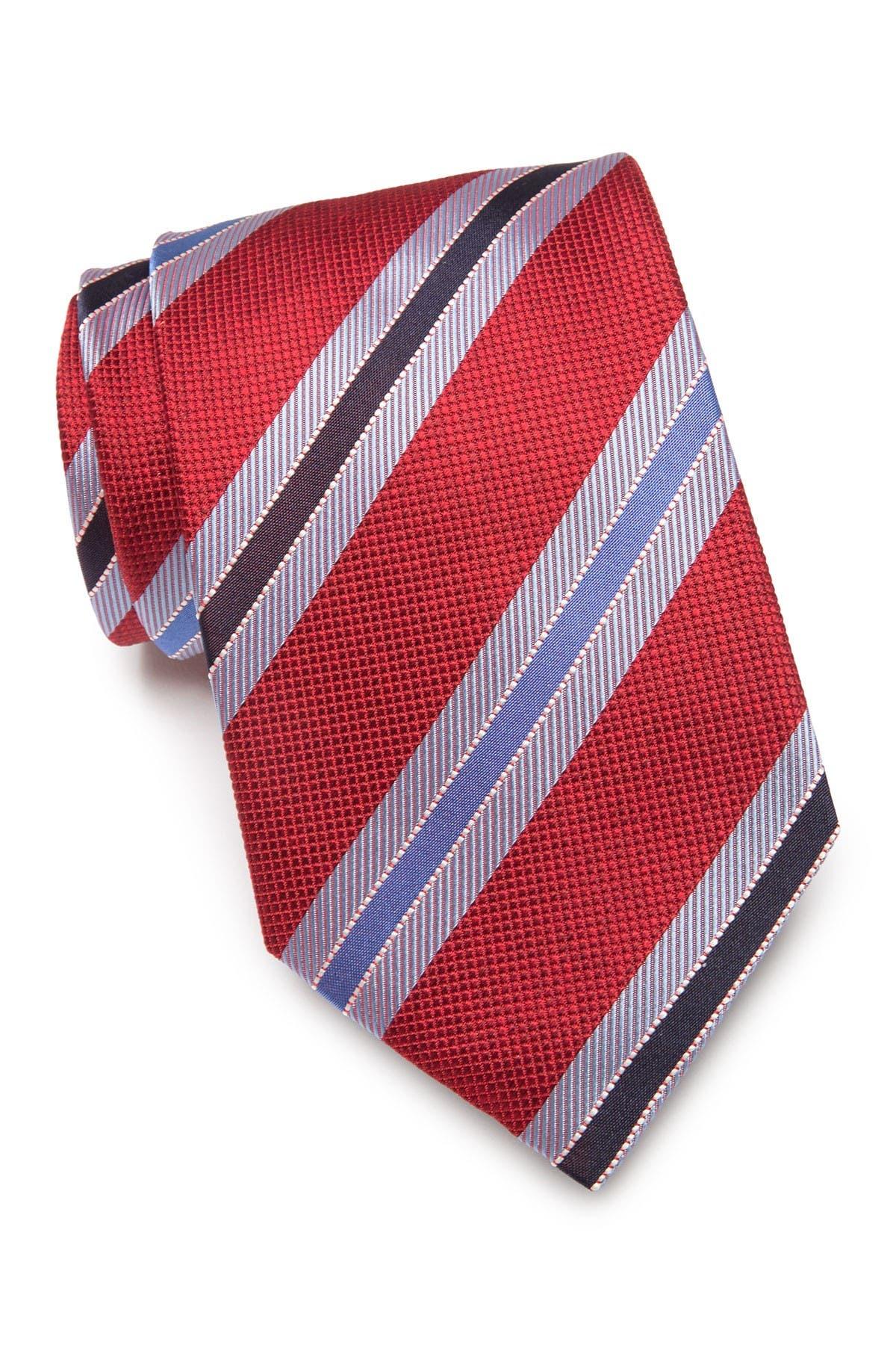 Image of Eton Striped Silk Tie