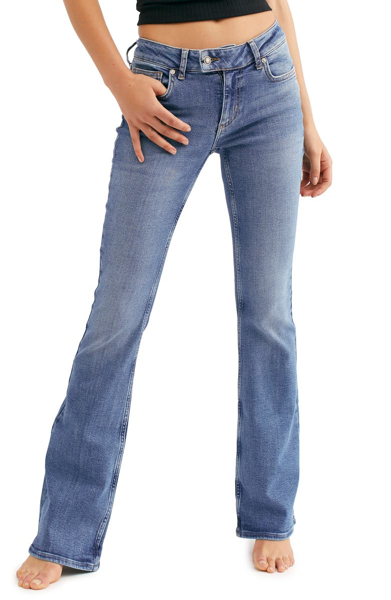 FREE PEOPLE Heirloom Bootcut Jeans, Main, color, 400