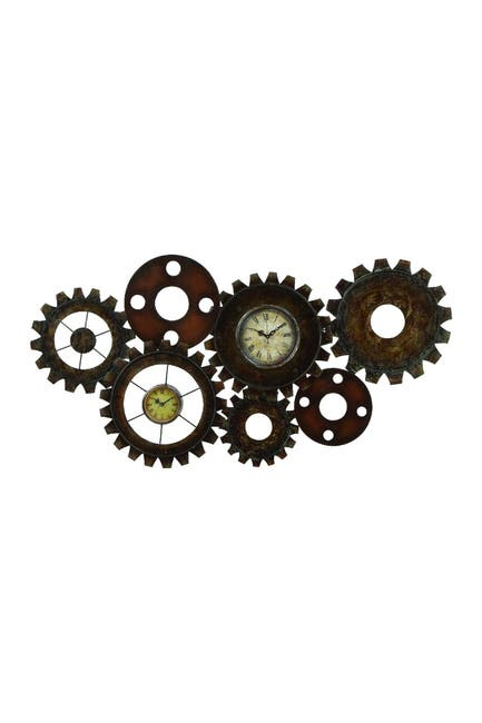 Image of Willow Row Gear Clock