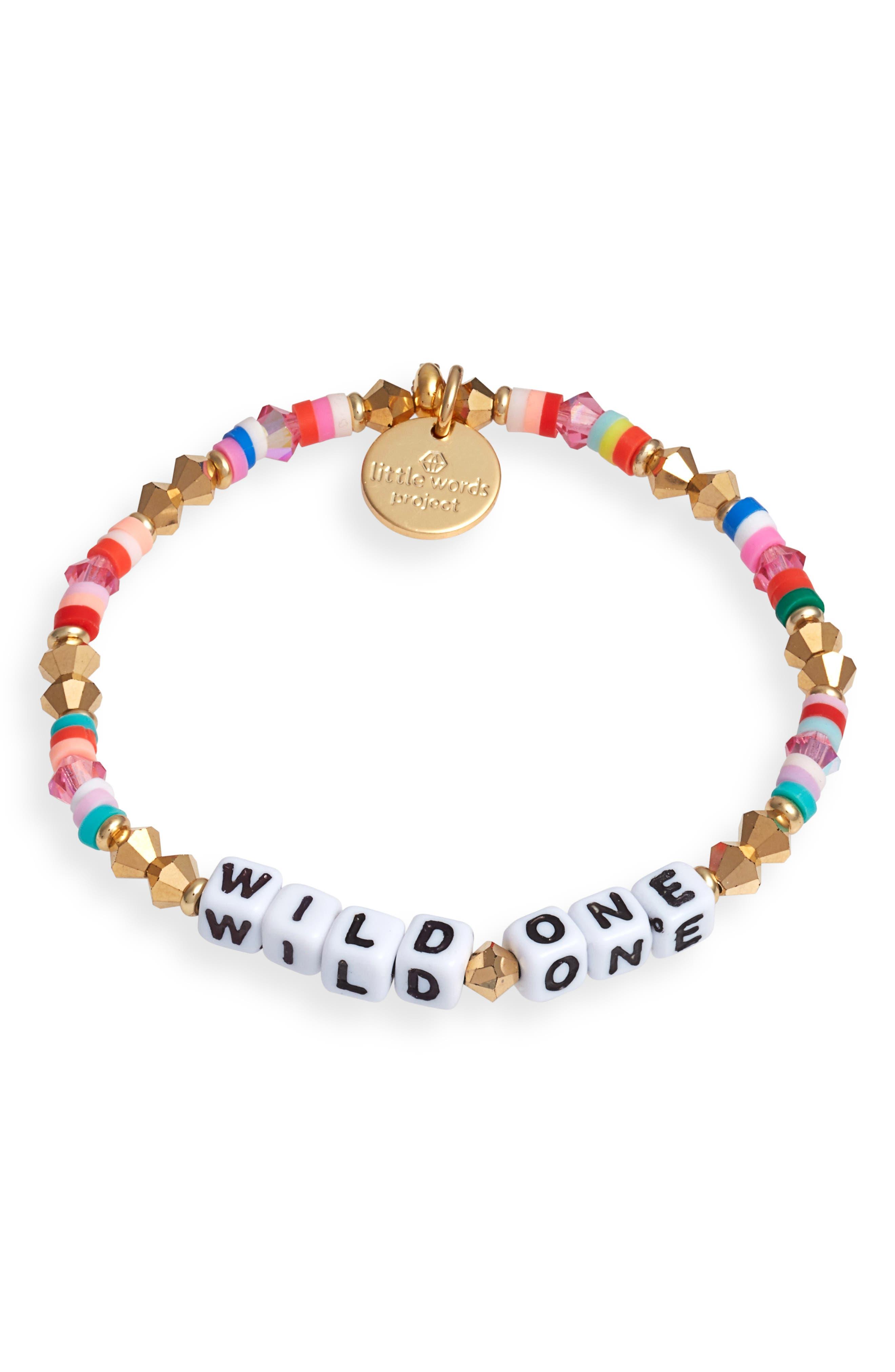 Wild One Beaded Stretch Bracelet
