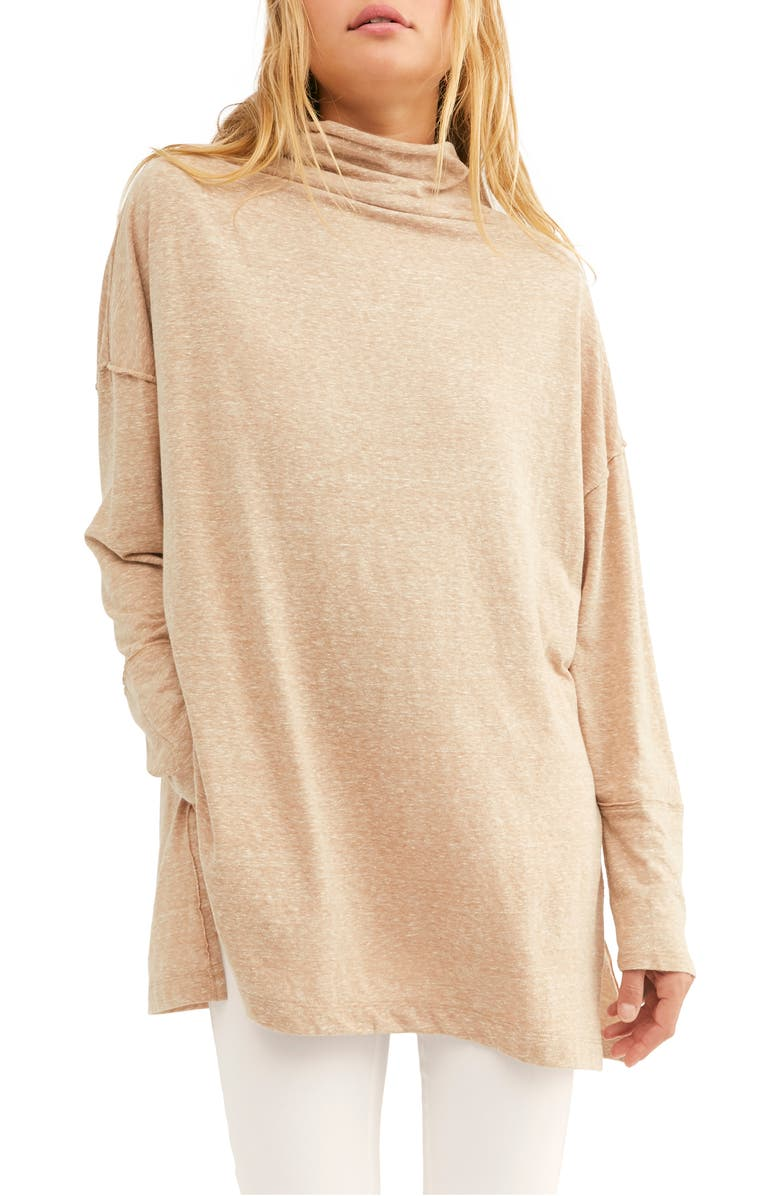 FREE PEOPLE Bella Vista Thermal Tunic, Main, color, COPPER