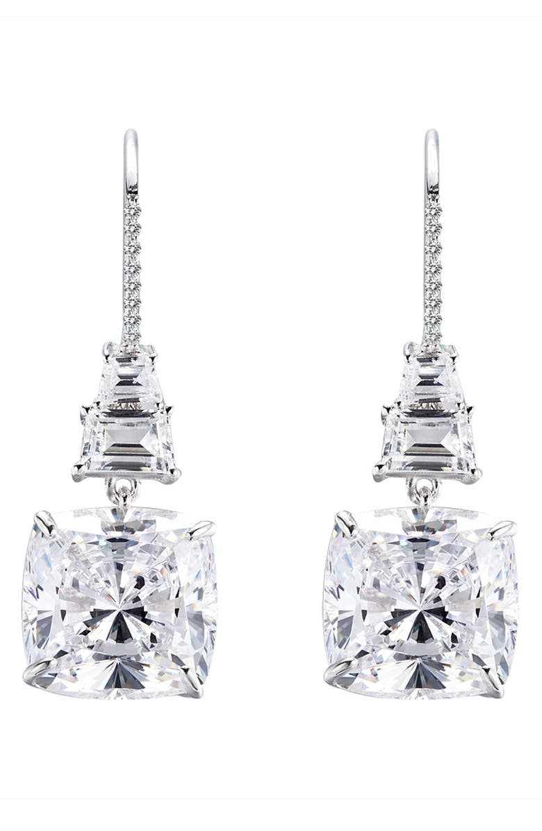 LAFONN Fancy Simulated Diamond Drop Earrings, Main, color, 040