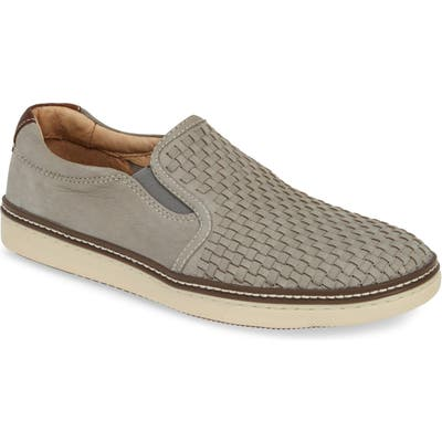 Johnston & Murphy Mcguffy Slip-On- Grey