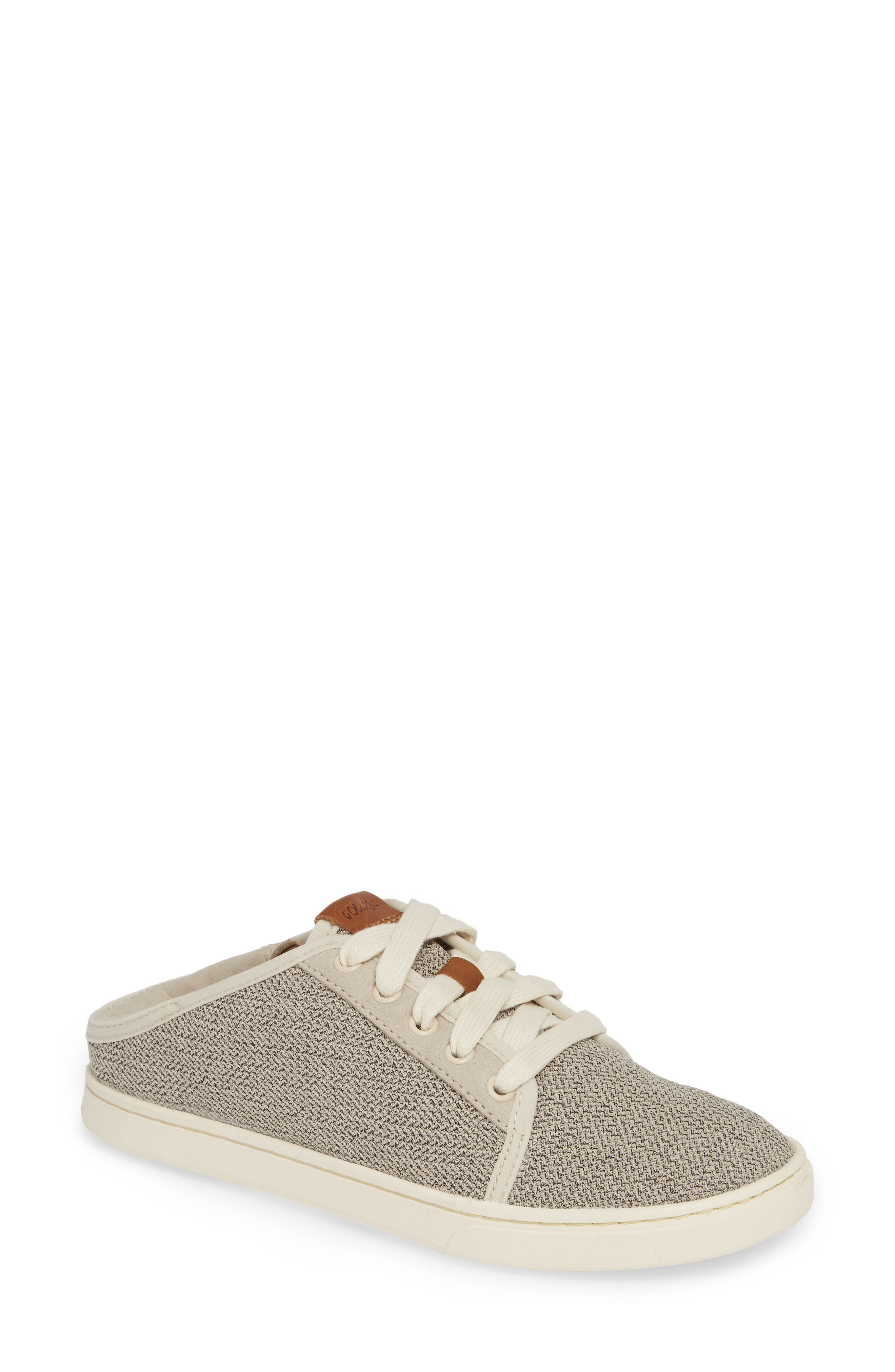 Olukai Pehuea Li Convertible Sneaker- Beige