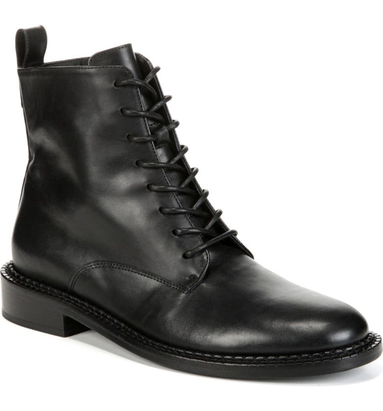 VINCE Cabria Lace-Up Boot, Main, color, BLACK