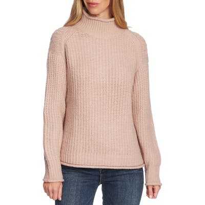 Vince Camuto Mock Neck Sweater, Pink