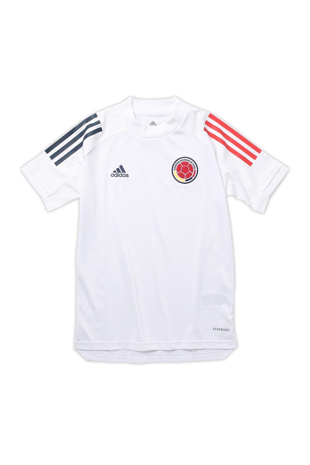 Image of ADIDAS ORIGINALS Federacion Colombiana de Futbol Soccer Jersey