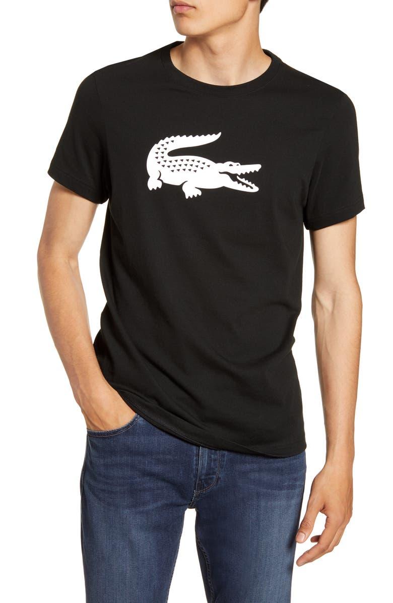 LACOSTE Technical Logo T-Shirt, Main, color, 003