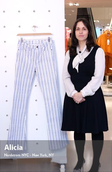Le High Flare Surfer Stripe High Waist Jeans, sales video thumbnail