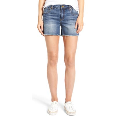 Kut From The Kloth Gidget Denim Shorts, Blue