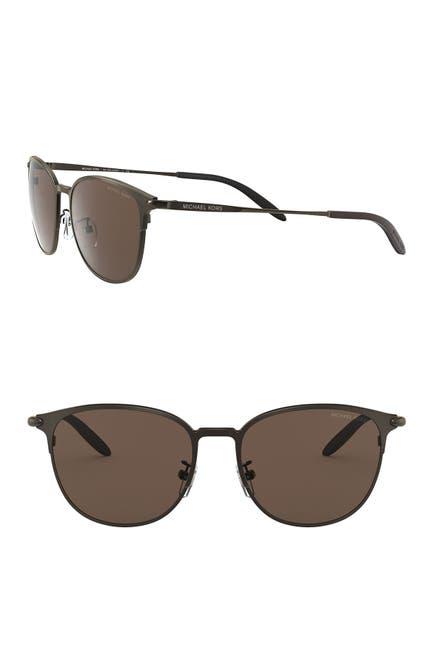 Image of Michael Kors Caden 54mm Round Sunglasses
