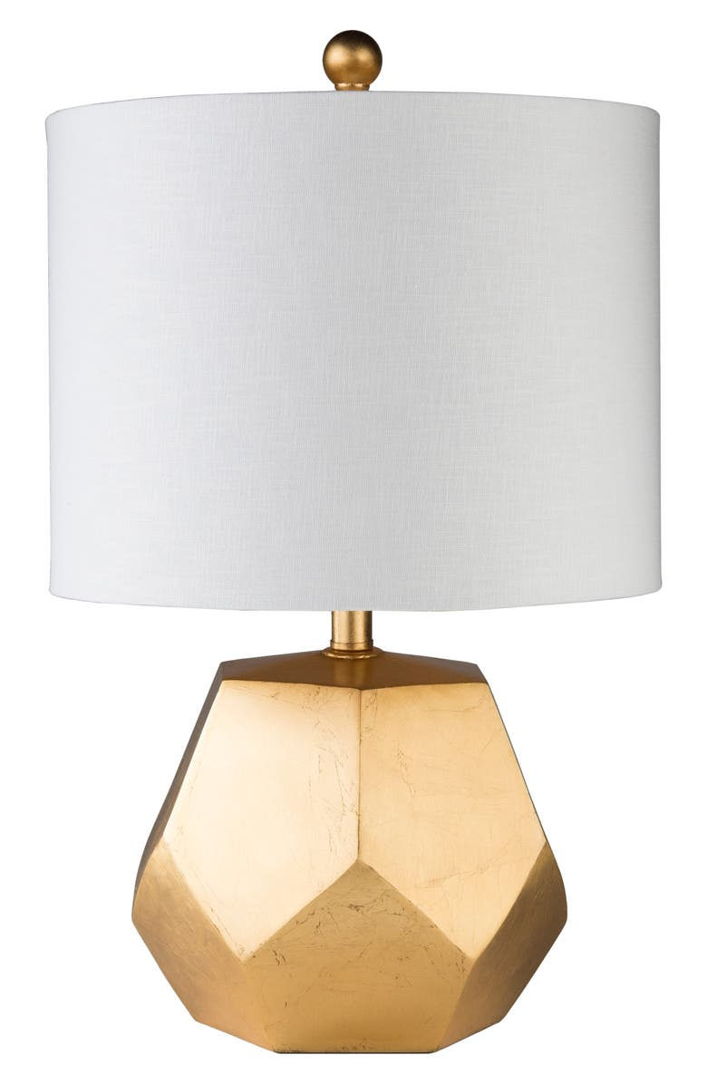 SURYA HOME Fielding Table Lamp, Main, color, WHITE